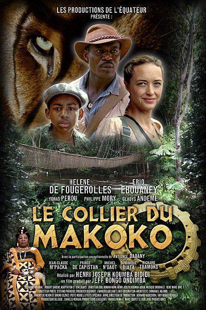 Le collier du Makoko a remporté le Prix de la Meilleure affiche du FESPACO (et aussi celui du meilleur son).