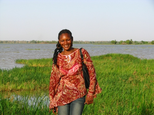 Ma très gentille logeuse et amie, accessoirement ladirectrice de la Radio Wend Panga, Fatimata.