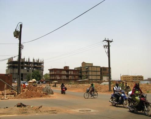 Les chantiers en cours sont malgré tout nombreux, les immeubles terminés plutôt rares...