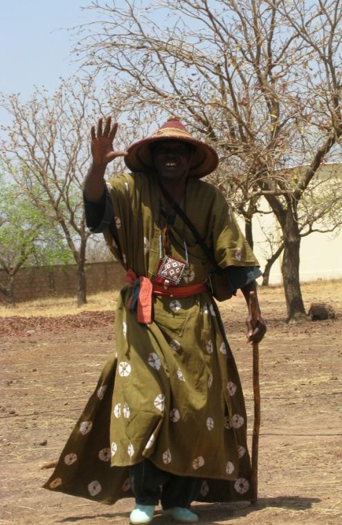 Un autre des costumes traditionnels de Ouitien Dembele.
